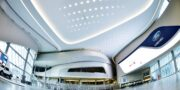 ford_hall_rogers_place_ceiling_acoustics_custom_shape_sloping_claro_decoustics (1)