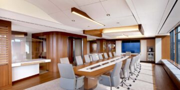 insight_office_custom_curved_ceiling_acoustical_fabric_decoustics (4)